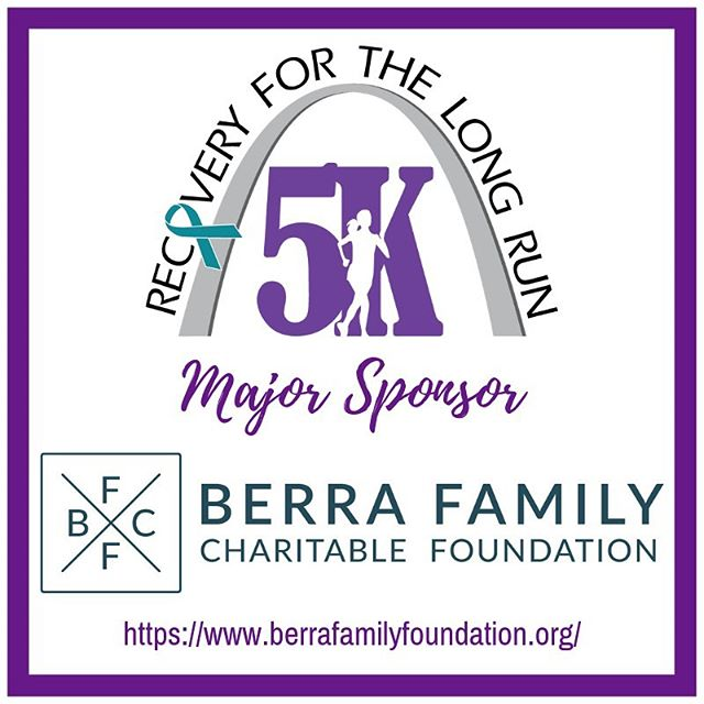 We 💜 our sponsors! Our very first Recovery For The Long Run 5K benefitting the women, children, and families that we serve would not be possible without the incredible support we've received from these community members! From the bottom of our hearts, thank you for helping us break the cycle of substance use disorders Berra Family Charitable Foundation, Puzniak Family, Kennedy Hunt, and Carlson Family! #stl #5k #fundraisers #charityevent #nonprofit #recovery #nationalrecoverymonth #sponsorshipopportunity #changinglives