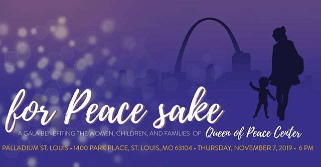 It is with great enthusiasm that we announce that this year's For Peace Sake will be on Thursday, November 7th, at the Palladium St. Louis! This will be the 20th year that we've held a fall event, so we are looking forward to making it a memorable one! Some of our festivities will include a silent auction, live auction, raffles, dinner, and entertainment from L.E. Good! Will you be joining us For Peace Sake? Register now at http://bidpal.net/forpeacesake 💜✨ #forpeacesake19 #qopc #stlevent #stlfundraiser #nonprofit #palladiumstl #register #substanceusedisorder #recovery #gala