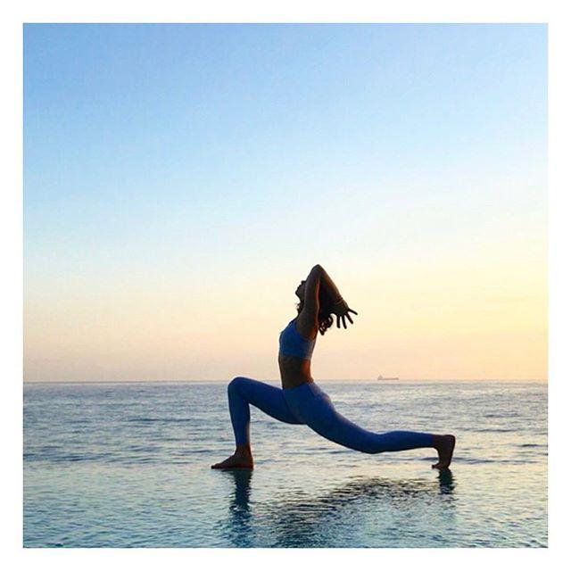 Life is an I L L U S I O N . . .  Just be thankful for what you've got 💙 . . . . #yoga #bali #yogagirl #yogini #yogini #sunset #yogaeverywhere #beachyoga #dreams #barre #pilates #yogaset #ecofashion #layeritmixitmatchit #yogagoals