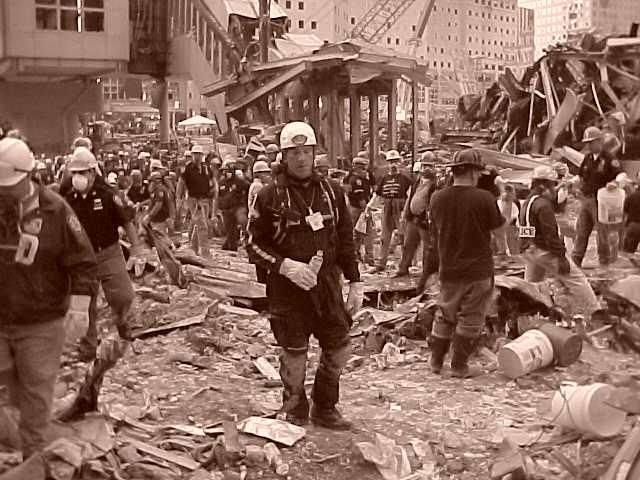 Erick @ Ground Zero 2001 - Tracey Litt Photography