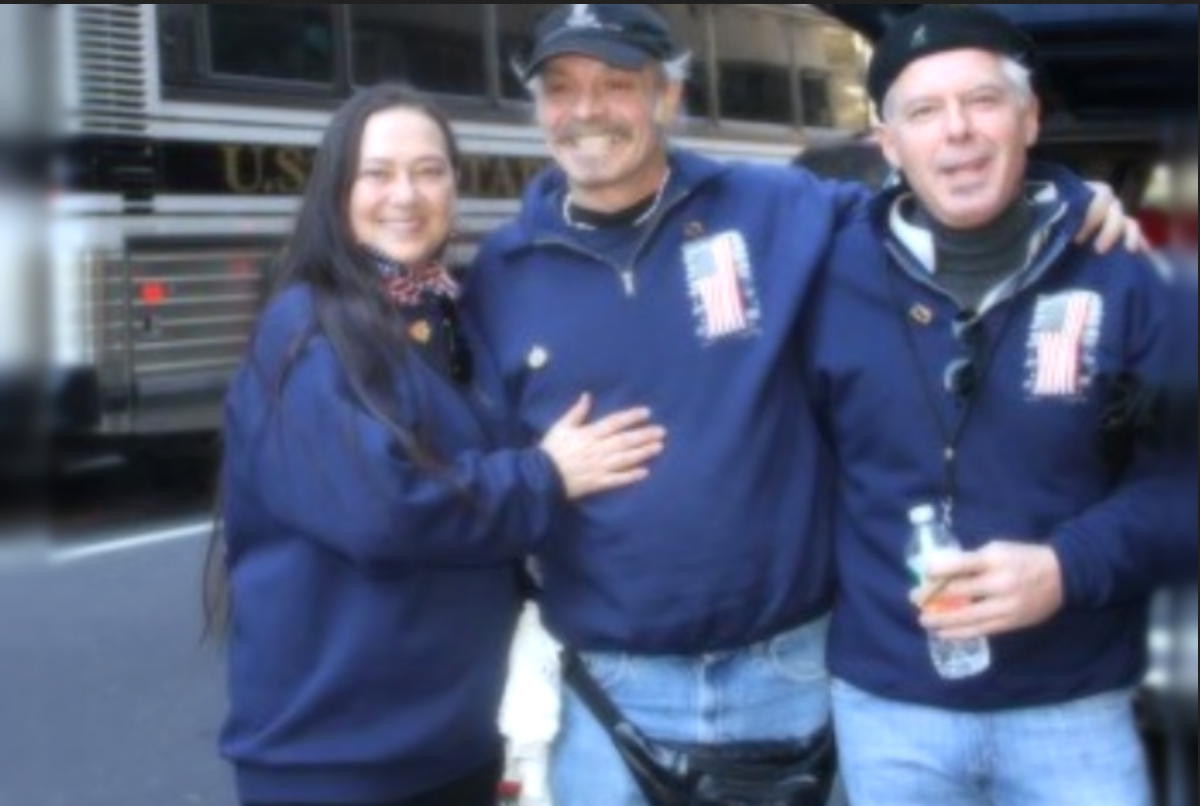 Left to right: Denise Lutrey-Casalinuovo, John Casalinuovo, John Mcguire (Note: John Mcguire is no longer an active member)