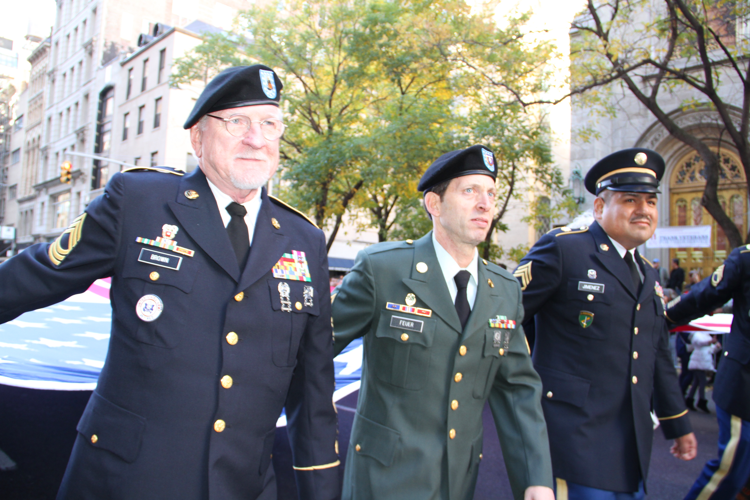 2016 Veterans Day Parade -5th Avenue, New York. Photo by: Cierra Mazzola from   GZVF.org