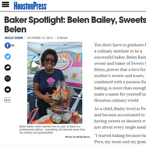 Baker Spotlight: Belen Bailey, Sweets by Belen -