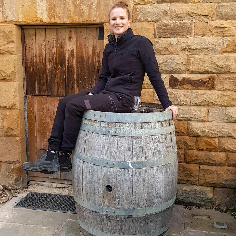 Nant Distiller Bec Walsh at Nant Distillery & Estate