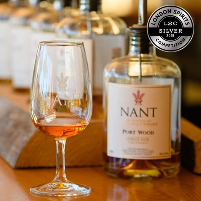 Our rich and inviting Nant ex Port Cask 43% (Single Cask) has been awarded a Silver in this year's London Spirits Competition.  Explore our collection of exclusive single cask expressions at: www.nant.com.au  #singlemalt #whisky #spirits