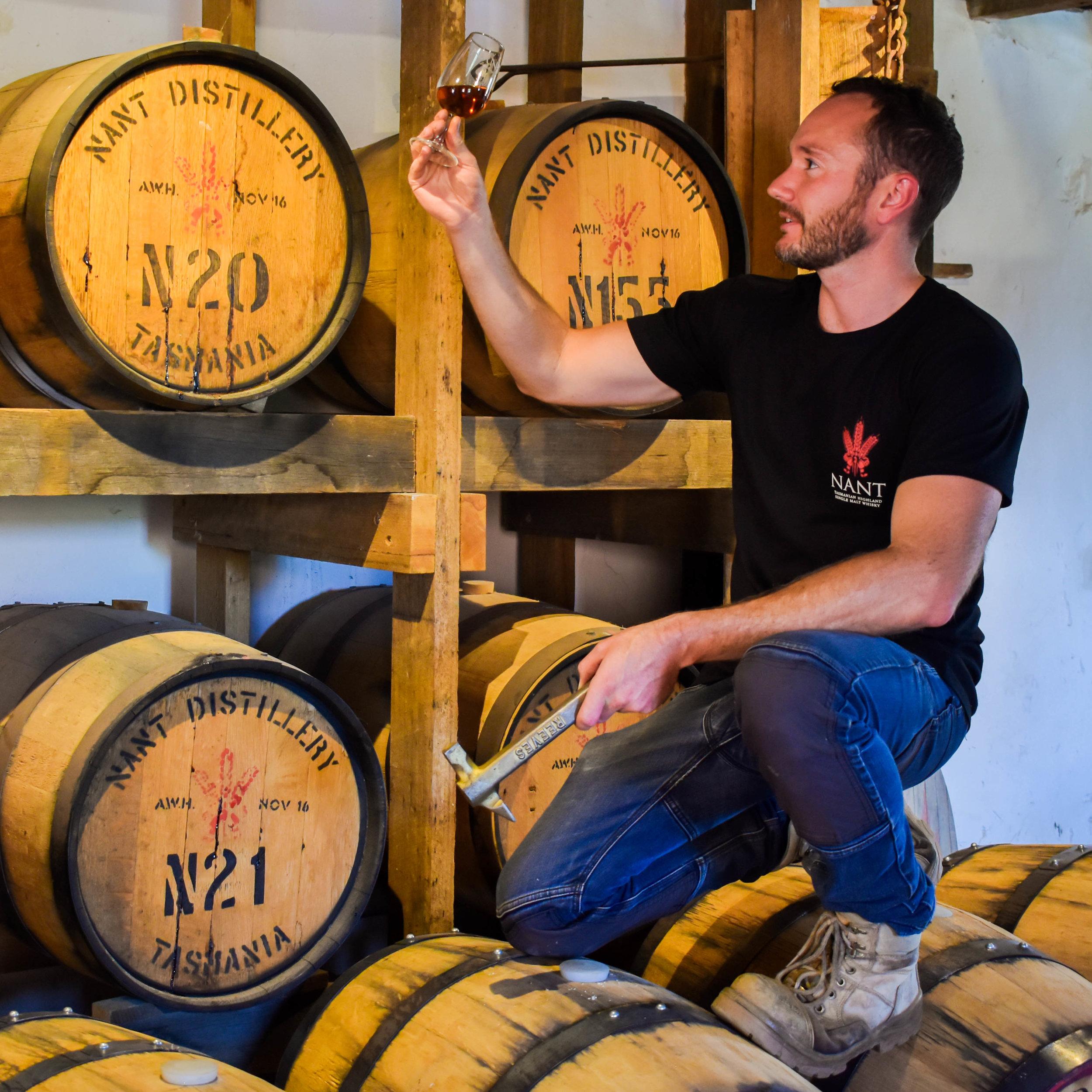 Distiller Blair Whitehead