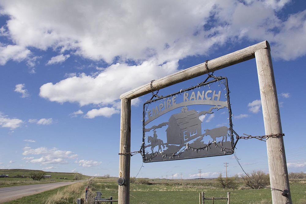 Empire Ranch in Moorcroft, Wyoming.