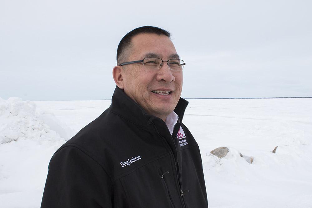 Doug Yankton Senior, the Crow Hill District Representative of Spirit Lake Nation and the Tribal Vice Chairman.