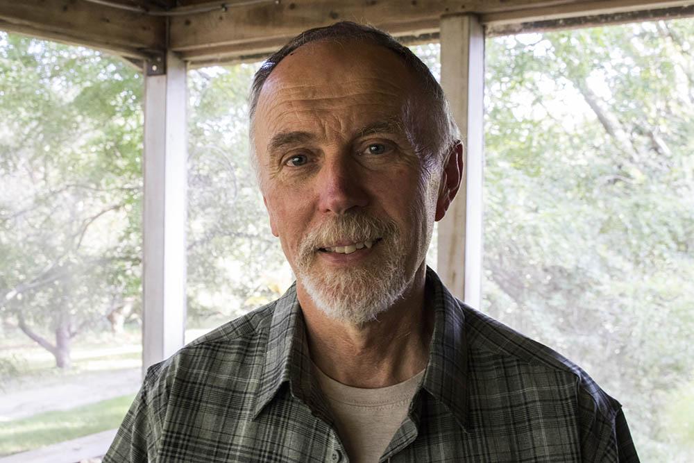 Steve Helling at home in Brookings, South Dakota.
