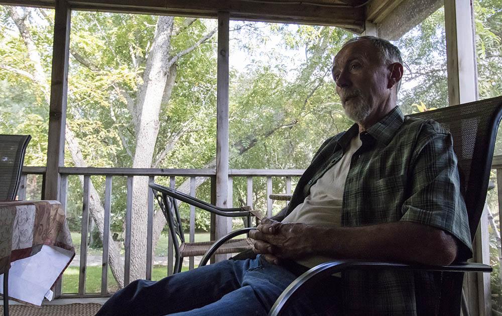 Steve at home in Brookings, South Dakota.