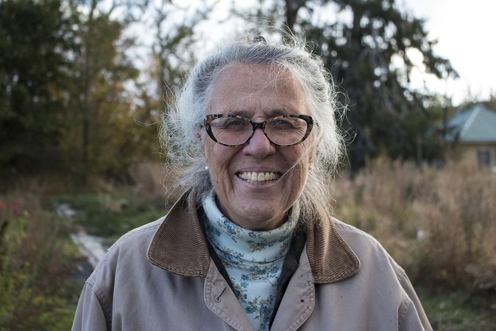Susan Boyd at her farm in Union, Oregon.