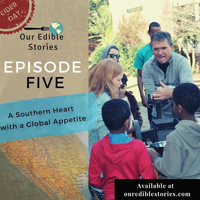 Catch Episode Five of Our Edible Stories Podcast: A Southern Heart with a Global Appetite. Can West Virginia sausage gravy and Korean melon exist on the same plate? They can if you're Charlotte's 'Mister Apple Cider Man'. Learn more on today's southern food episode! Visit ourediblestories.com or check us out on iTunes, Spotify or Stitcher.