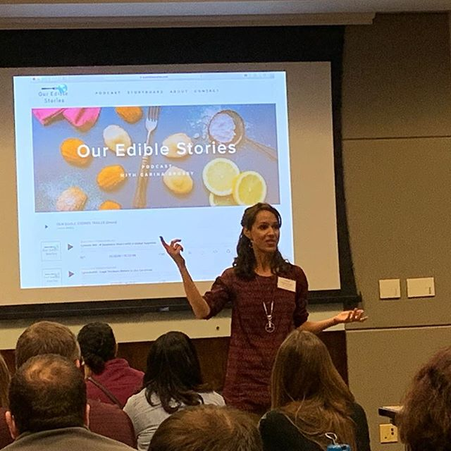 A big thanks to University of North Carolina at Chapel Hill's World View program for inviting me to speak on immigrant food and the power of storytelling at both their Global Migration and Latin America Seminars. The audience consisted of K-12 and community college faculty from every subject area. worldview.unc.edu