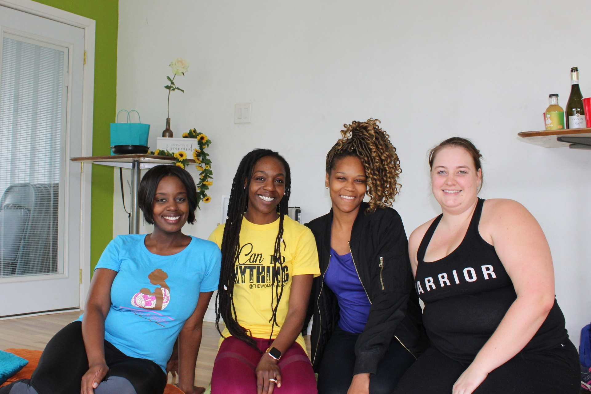 Afternoon of Connections hosted on March 30th, 2019. Our FIRST event! (One attendee missing)