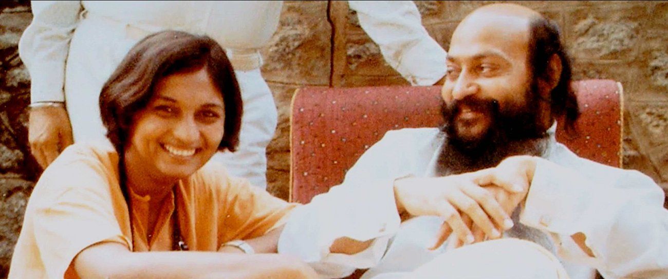 Sheela and Bhagwan
