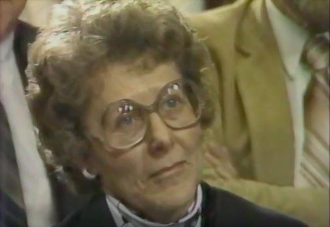 Mayor Margaret Hill of Antelope