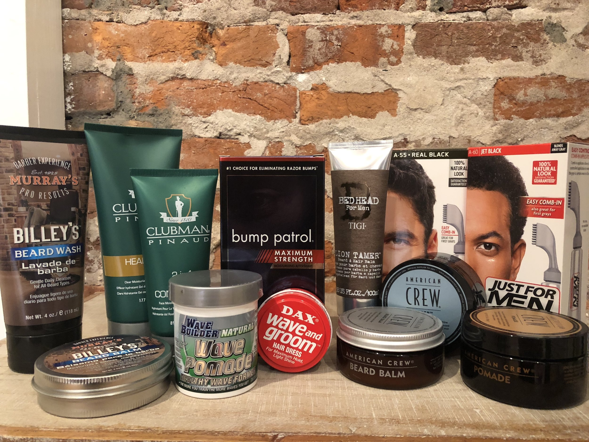 some of our Mens hair & beard care
