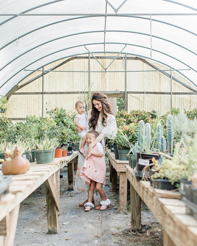 We had a great time modeling for @leximeadowsphotography a few weeks back! I'm so grateful for these images of me and my babes! . . . . #houston #houstontx #richmondtx #plants #toddler #motherhood #mom #momlifeisthebestlife #mama #nursery #plantnursery #greenhouse