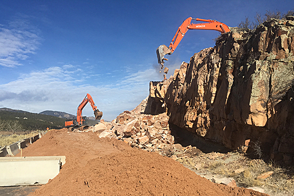 COunty road 31rockfall Mitigation - Construction management services