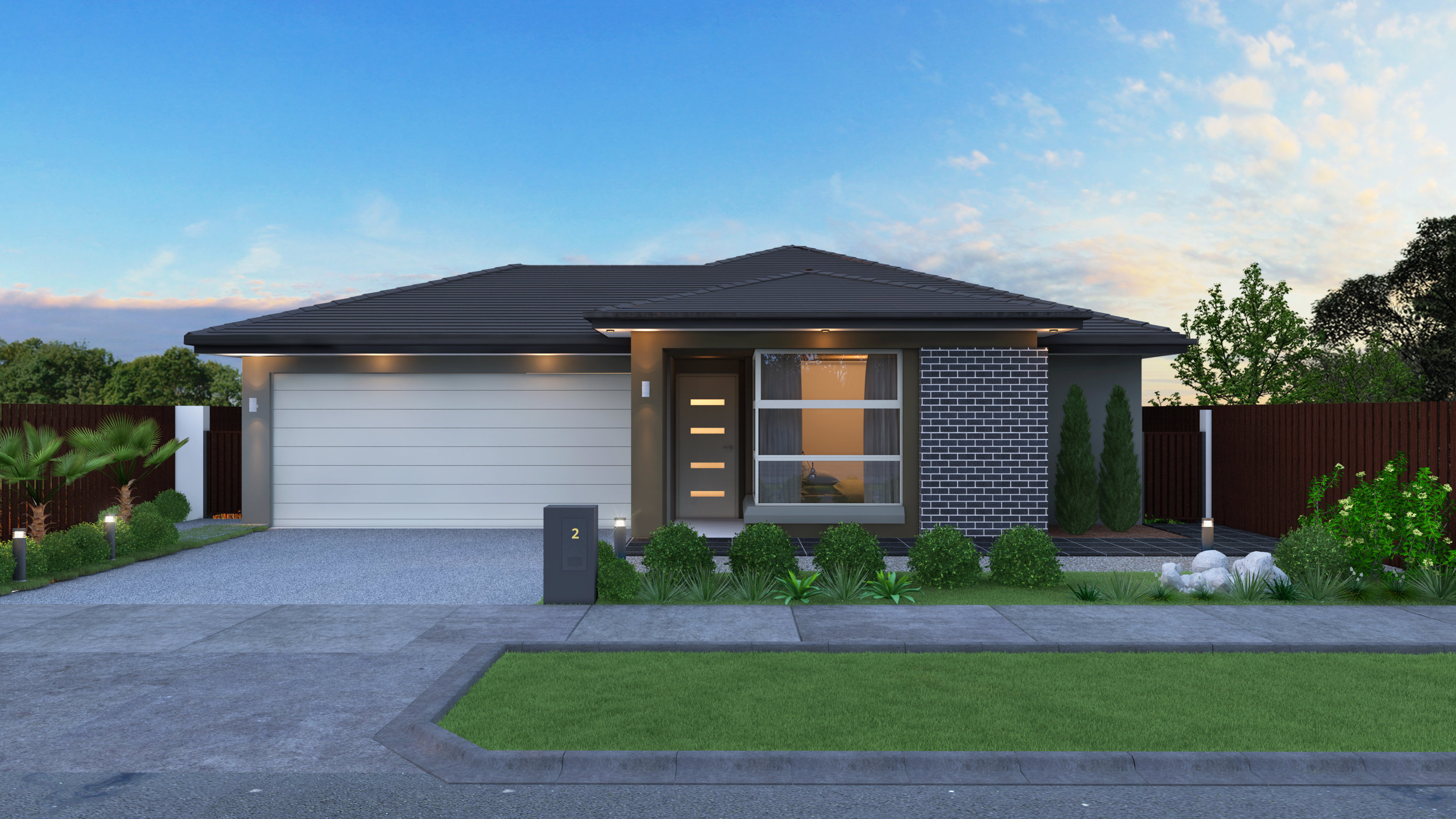 The Casuarina - 3 Bed | 2 Bath | 2 Car Garage15m Traditional Lots