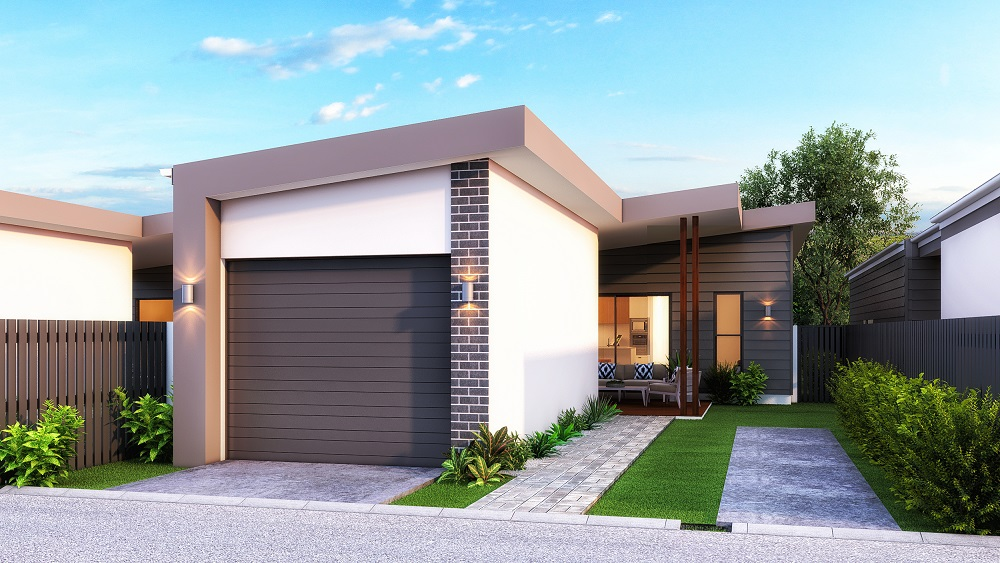 The Tivoli - 2 Bed | 2 Bath | 1 Car Garage + 1 Secure Park8m Laneway Lots