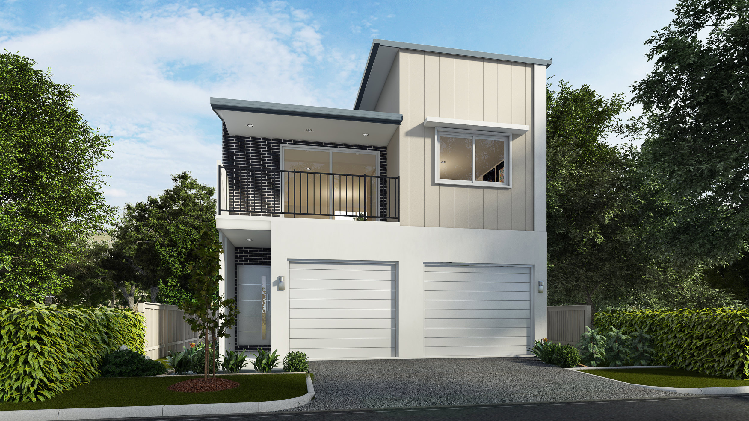 The Parkview - Unit A: 3 Bed | 2 Bath | 2 Car Tandem GarageUnit B: 1 Bed | 1 Bath | 1 Car Garage7.5m Laneway Lots