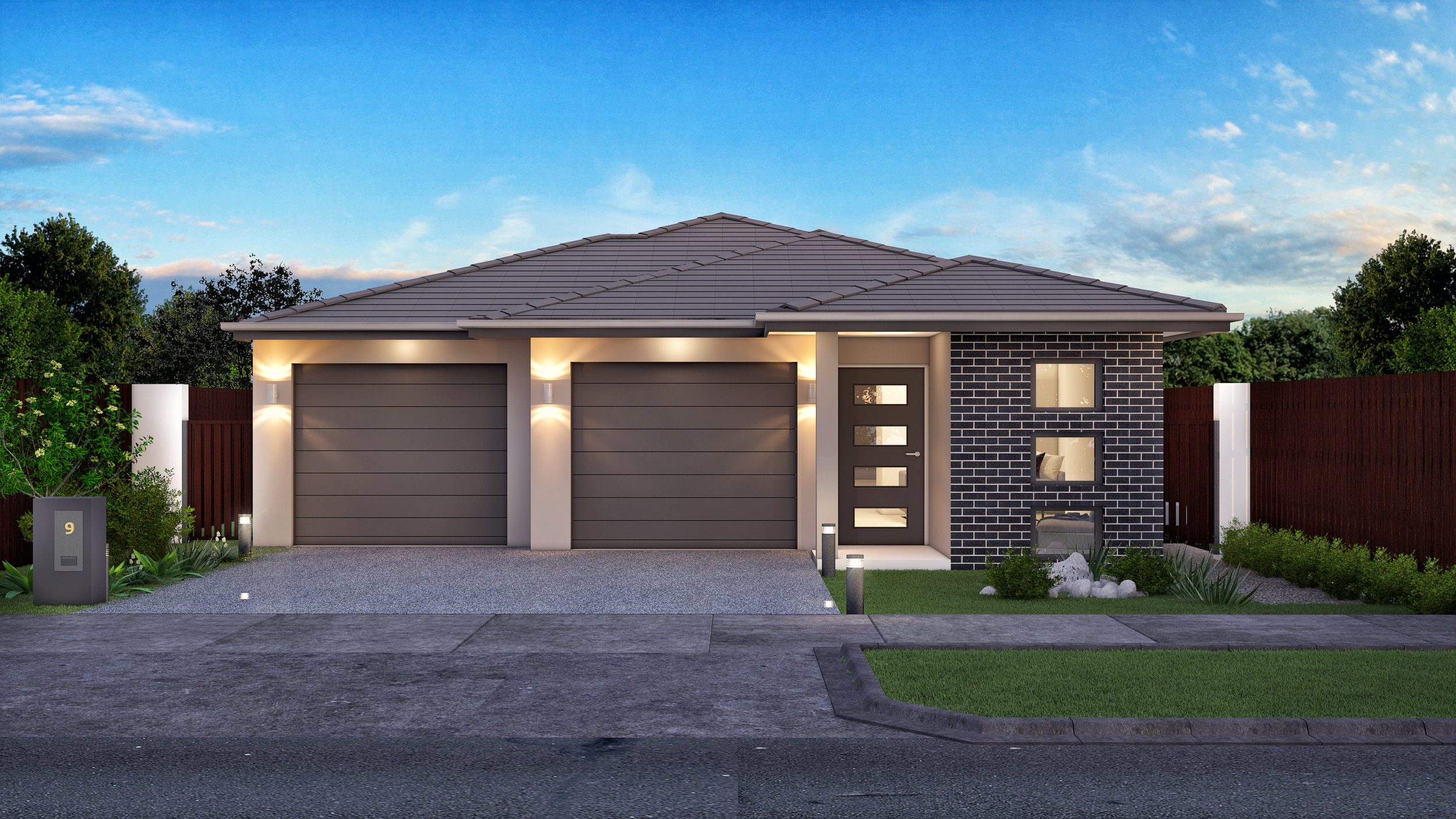 The Citadel - 3 Bed | 2 Bath | 2 Car Garage11.5m Traditional Lots