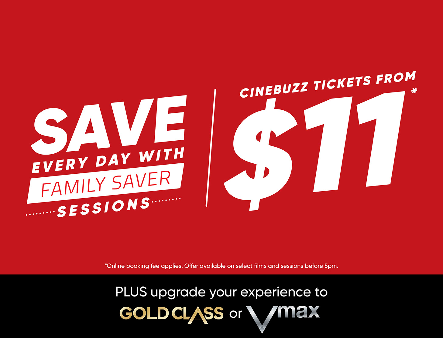 EVENT CINEMAS FAMILY SAVER SESSIONS!