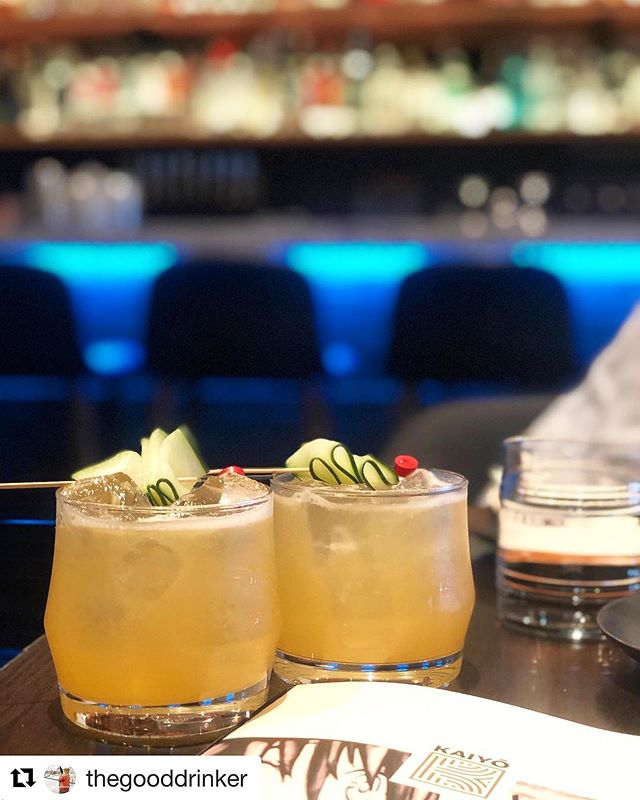 Friday cocktails are waiting for you! Treat yo'self to one (or two?!) Super Saiyans. It's crafted with @stgeorgespirits green chili vodka, chareau, riesling, cantaloupe, lemon, firewater bitters. 🍹😋✌️ Thank you @thegooddrinker for the delicious photo!  #KaiyoSF #Nikkei #PeruvianFood #JapaneseFood #cocktails #JapanesePeruvian #vodkadrinks #craftcocktails #drinks #SF #sunnydays #7x7 #SFRestaurants #sfbayarea #Thrillist #BayAreaEats #drinkporn #SFGuide #instafood #instadrink #cocktailporn #foodgasm #drinkstagram  #cocktailsofinstagram #draaanks #vodka