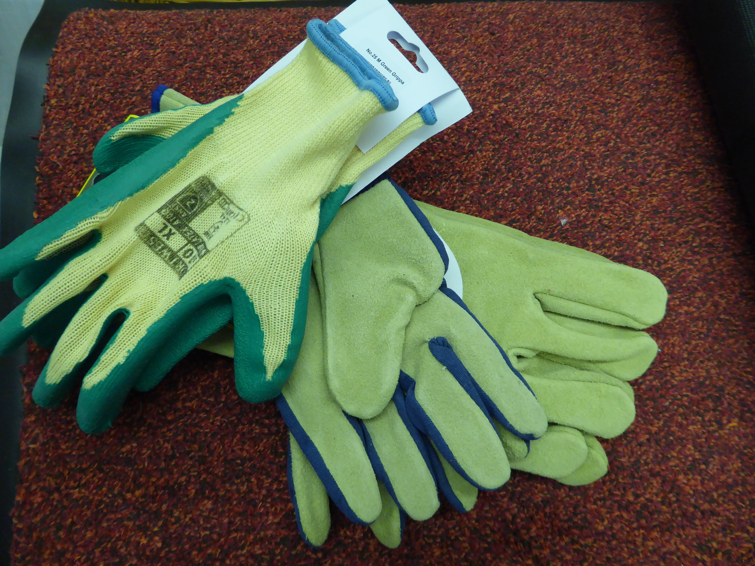 Don't forget your gardening gloves!