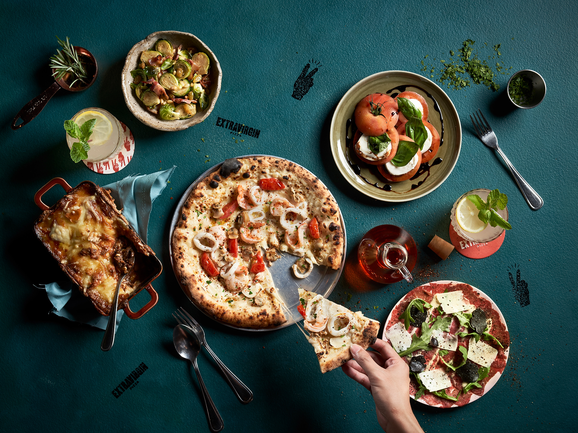 Extra Virgin Pizza, self-proclaimed Singapore's Best Neapolitan Pizza