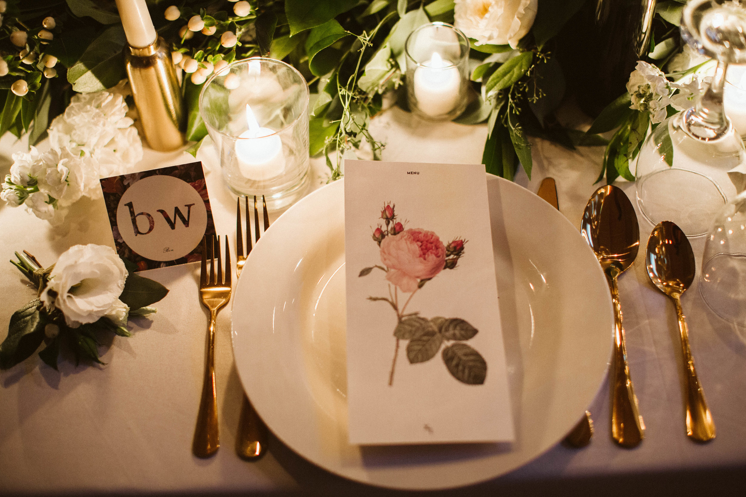 Table setting- Photo: Jessica Caballero Photo