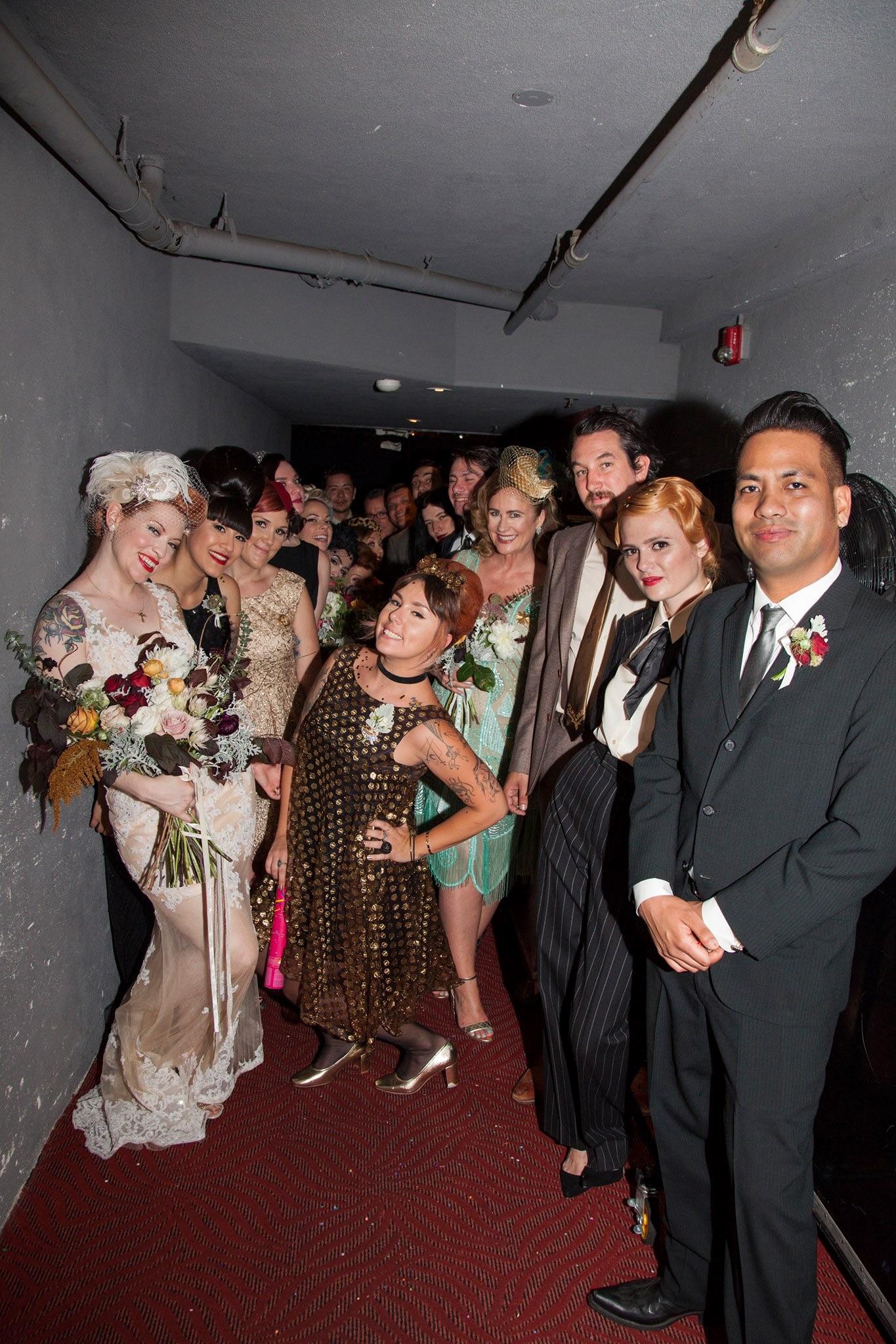 Wedding Party- Photo by Melinda Sanders