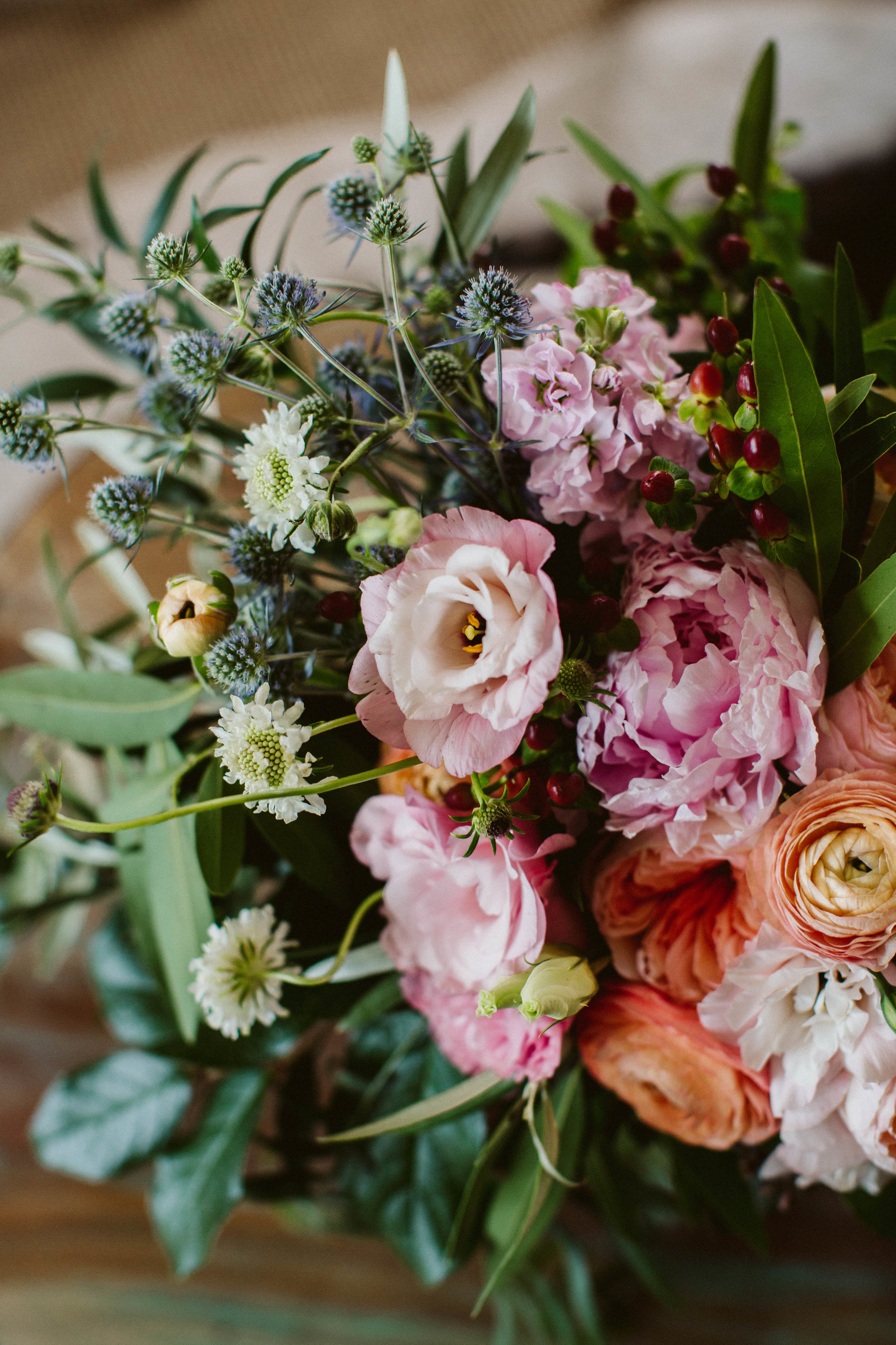 Tessa's wedding bouquet- Photo: Jessica Caballero Photo