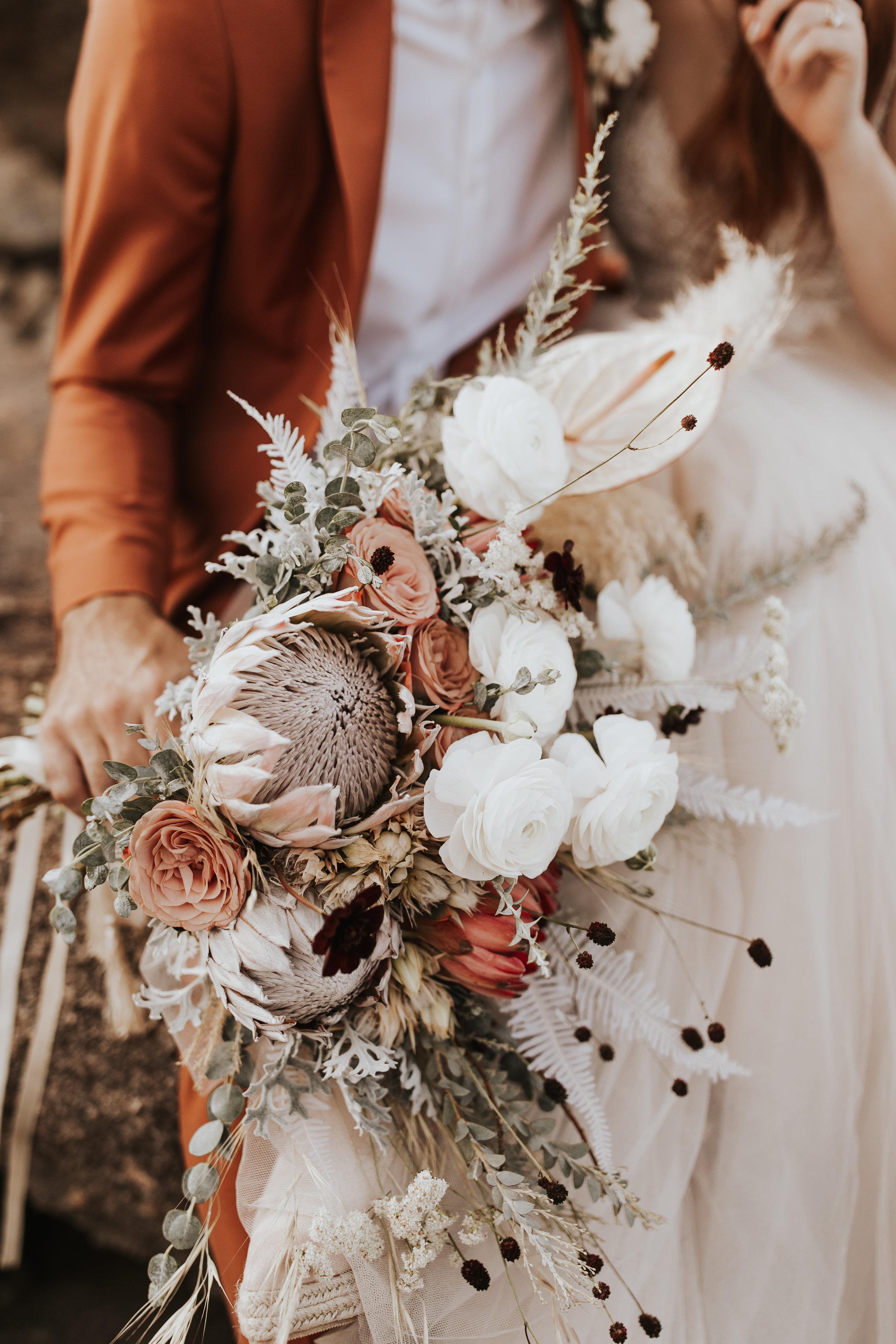 Emilie's Bouquet- Photo by Wild Heart Visuals (Nicole Little)
