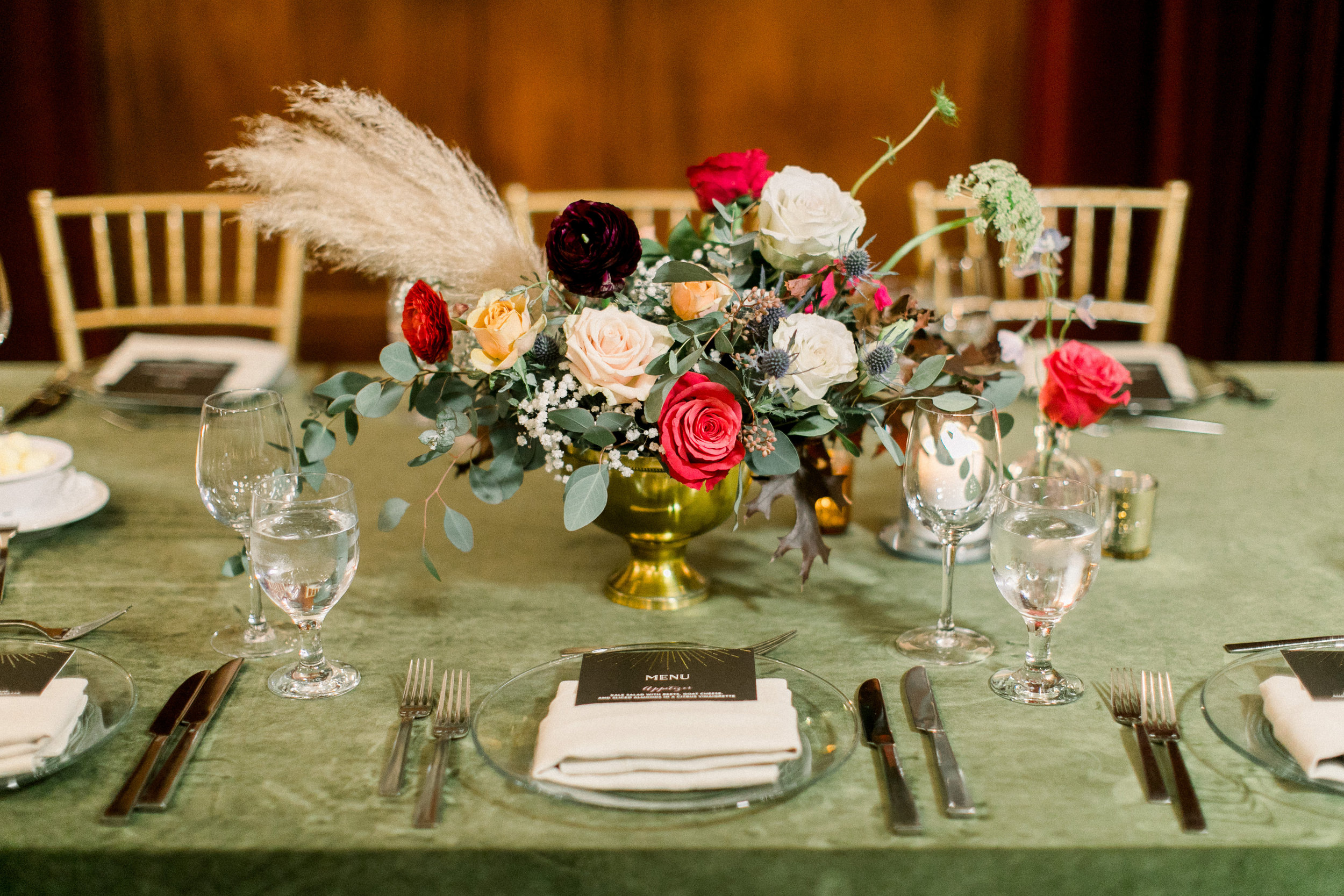 Centerpiece- Photo by Sposto Photo