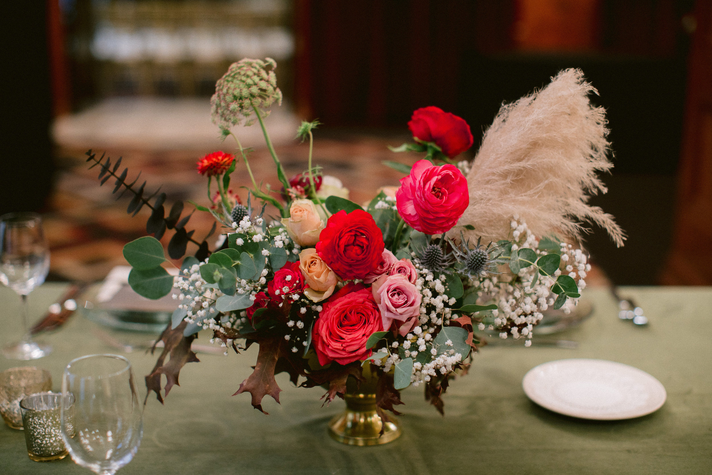 November Centerpiece- Photo by Sposto Photo