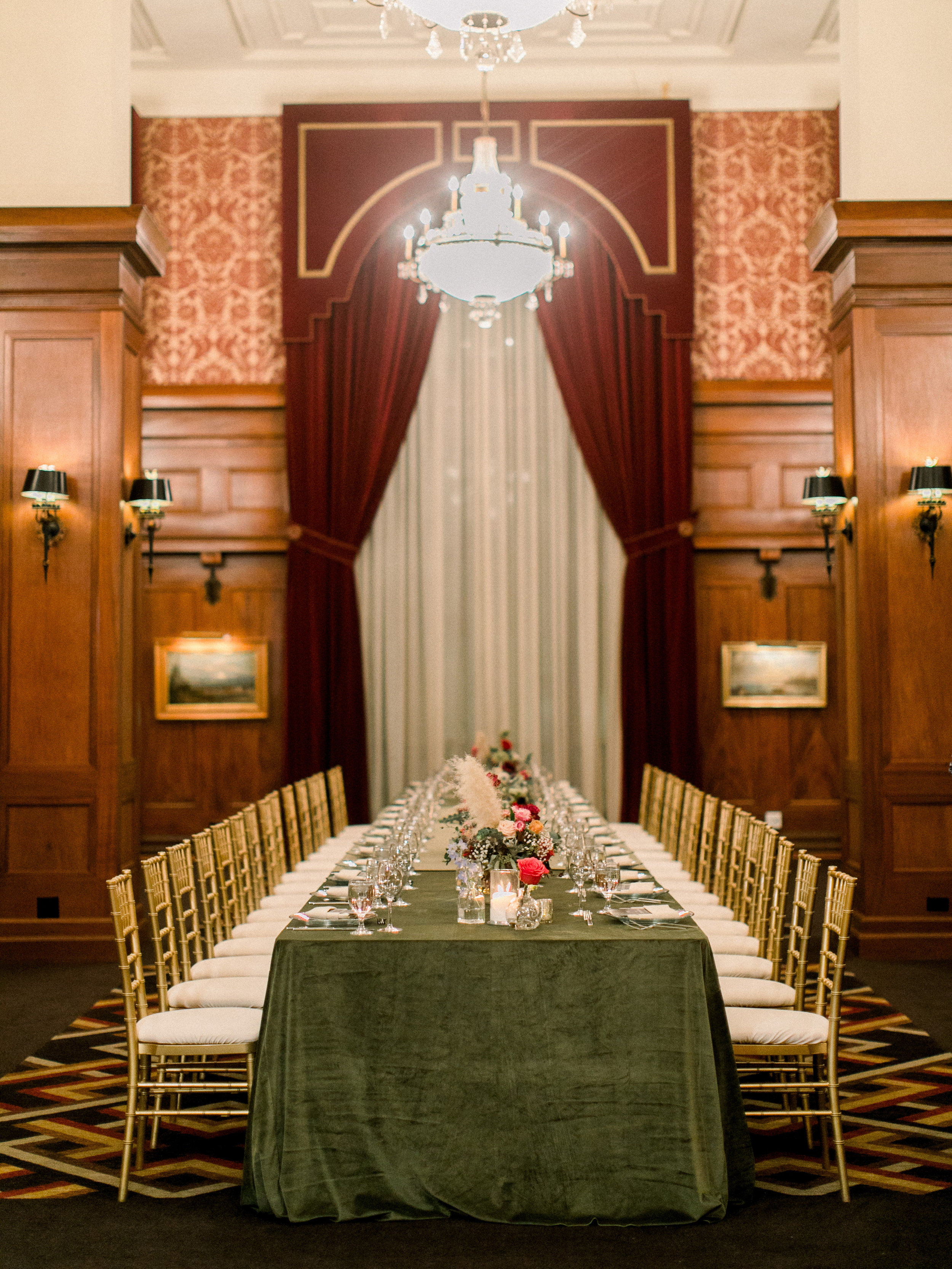 Stephanie & Leo's reception at The Los Angeles Athletic Club- Photo by Sposto Photo