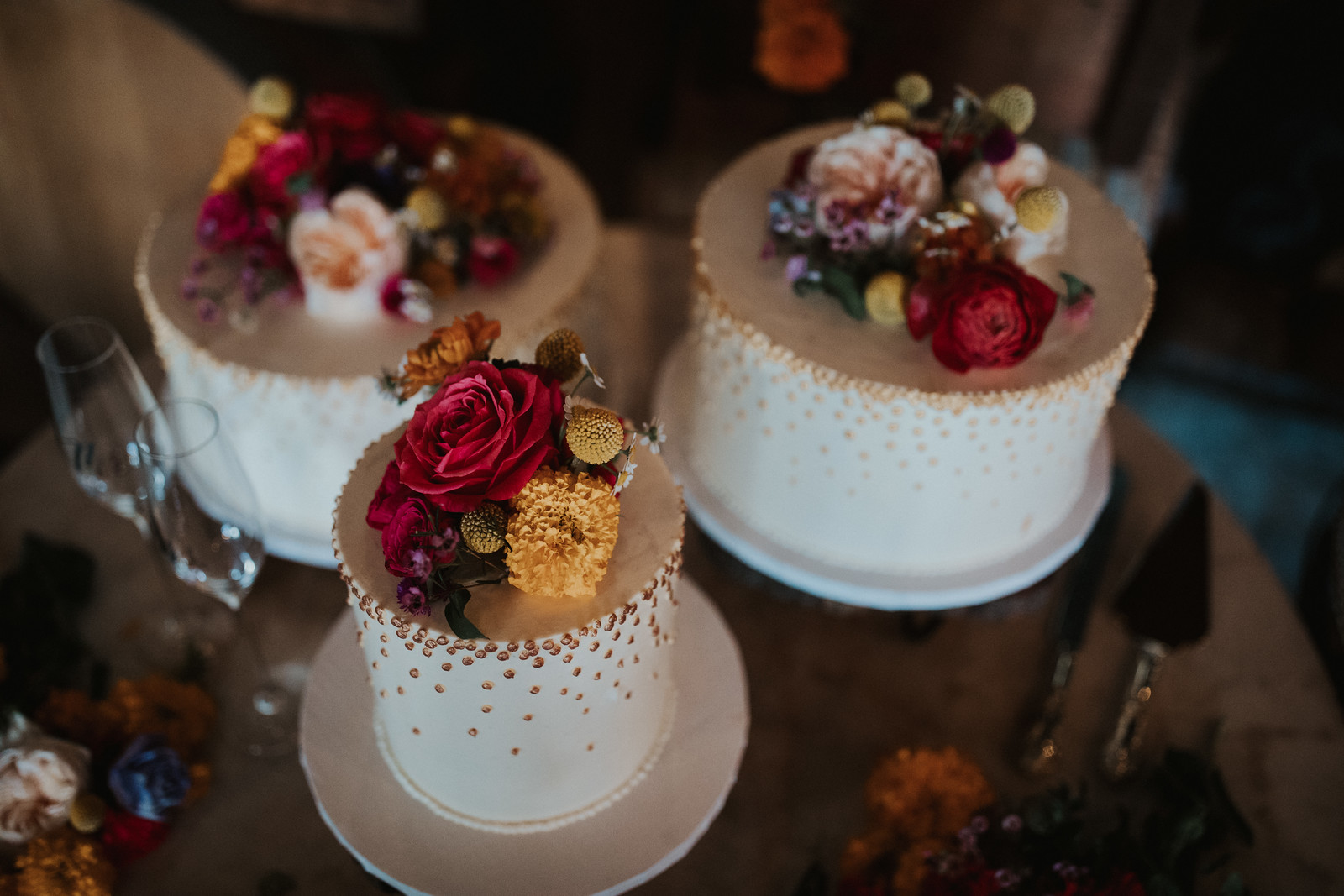 Cakes- photography by Ariele Chapman