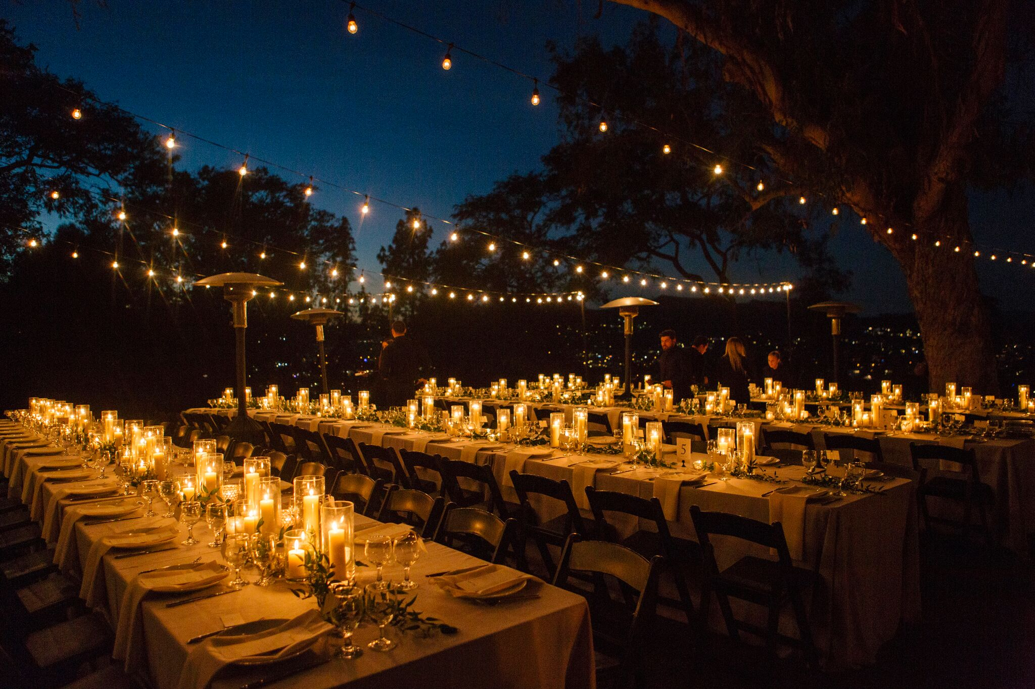Lorie & Adam's reception at The Paramour Estate- Photo by Rainbeau Tharp