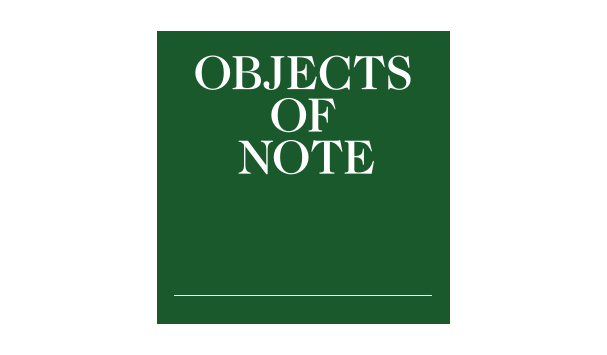 Vanguards Magazine Objects Of Note Articles