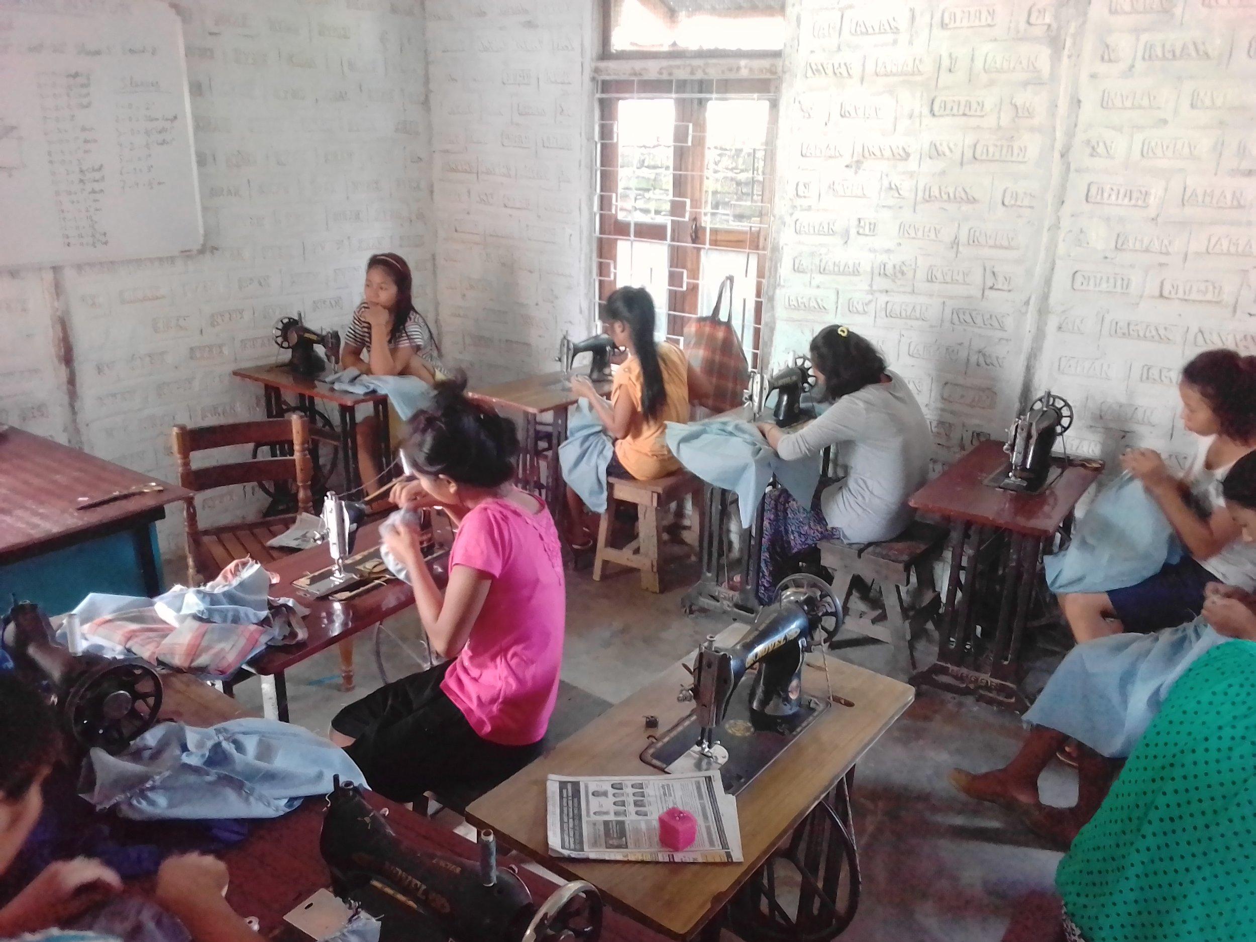 Tailoring unit, (Theja SHG Group enterprise), Kuda Village (Chumukedima Block).jpg