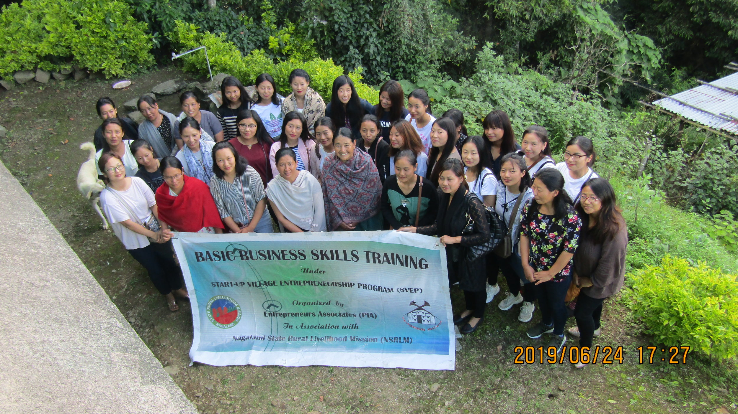 Basic Business Skills Training for SVEP Entrepreneurs at Jakhama Block.