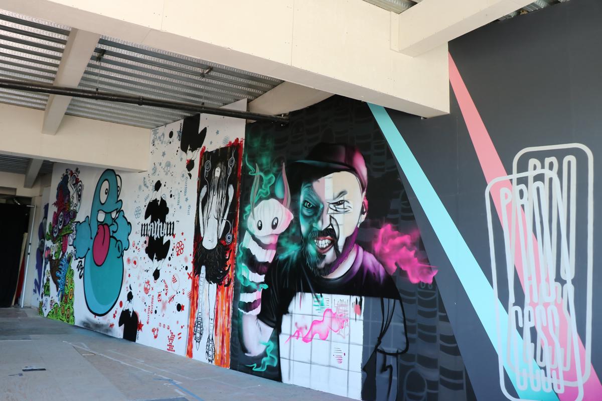 The Undercroft, Paint Jam