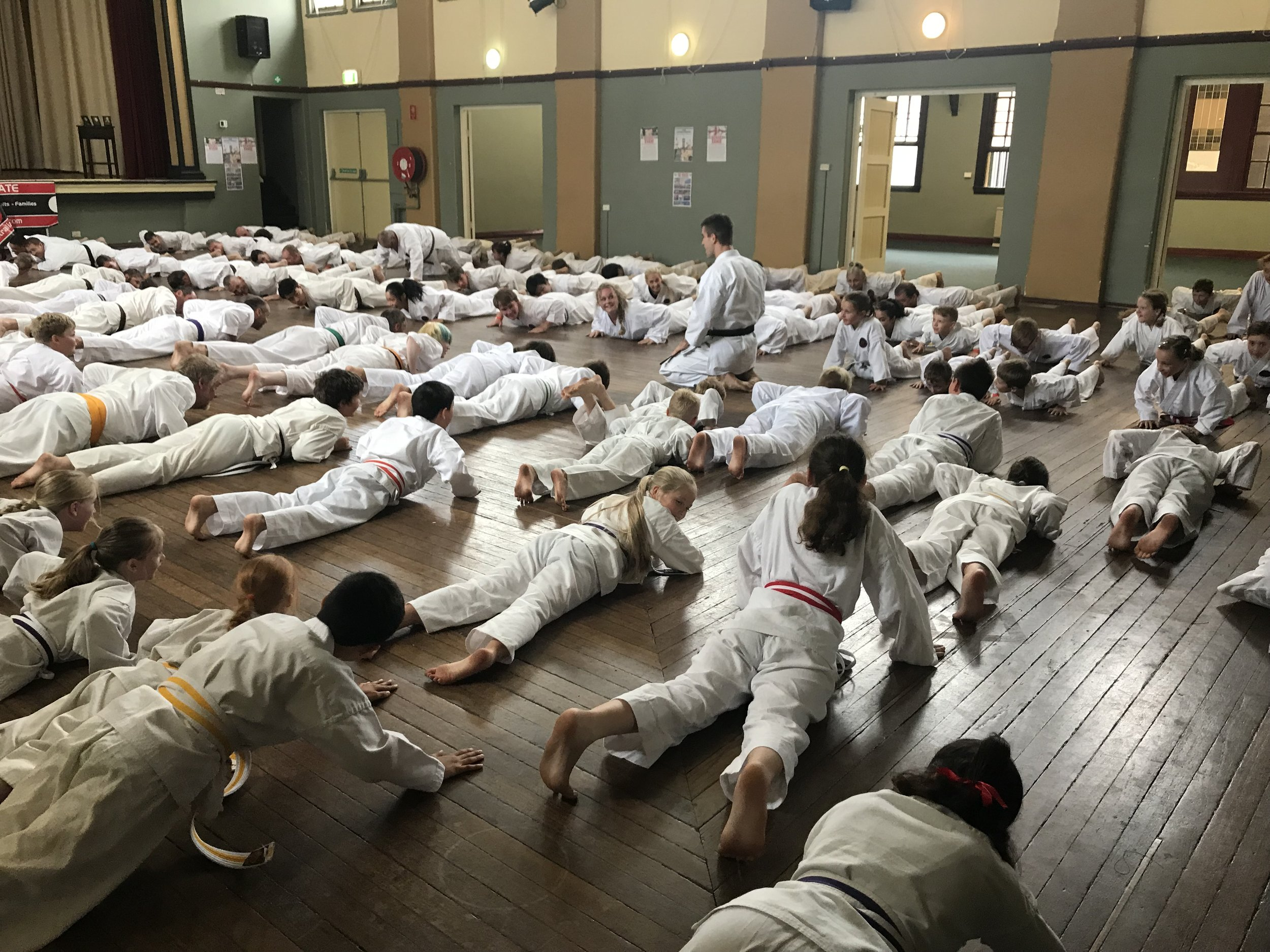 AOKGF NSW State Gasshuku held in Yass 2018
