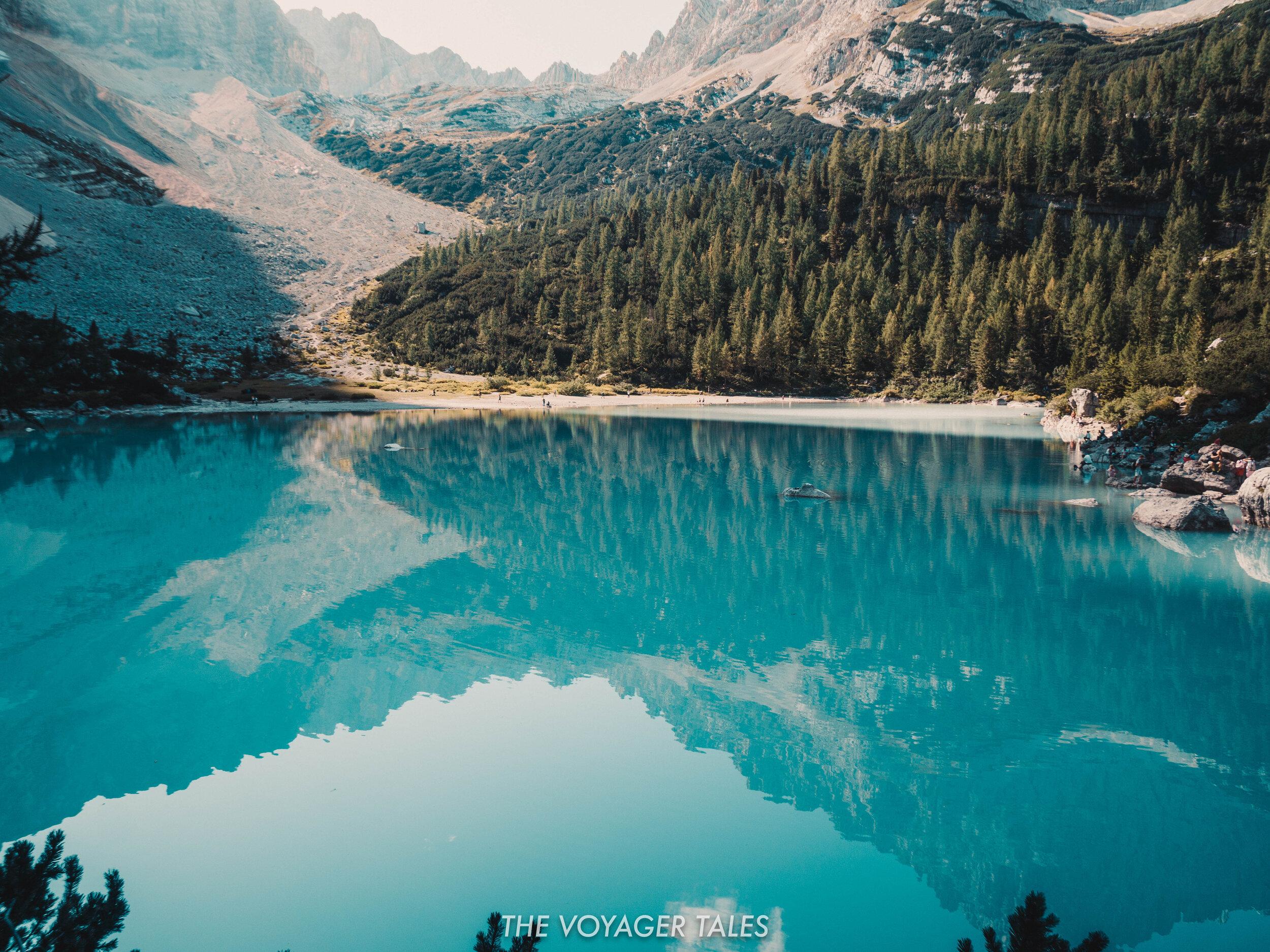 Lago di Sorapis, the Dolomites