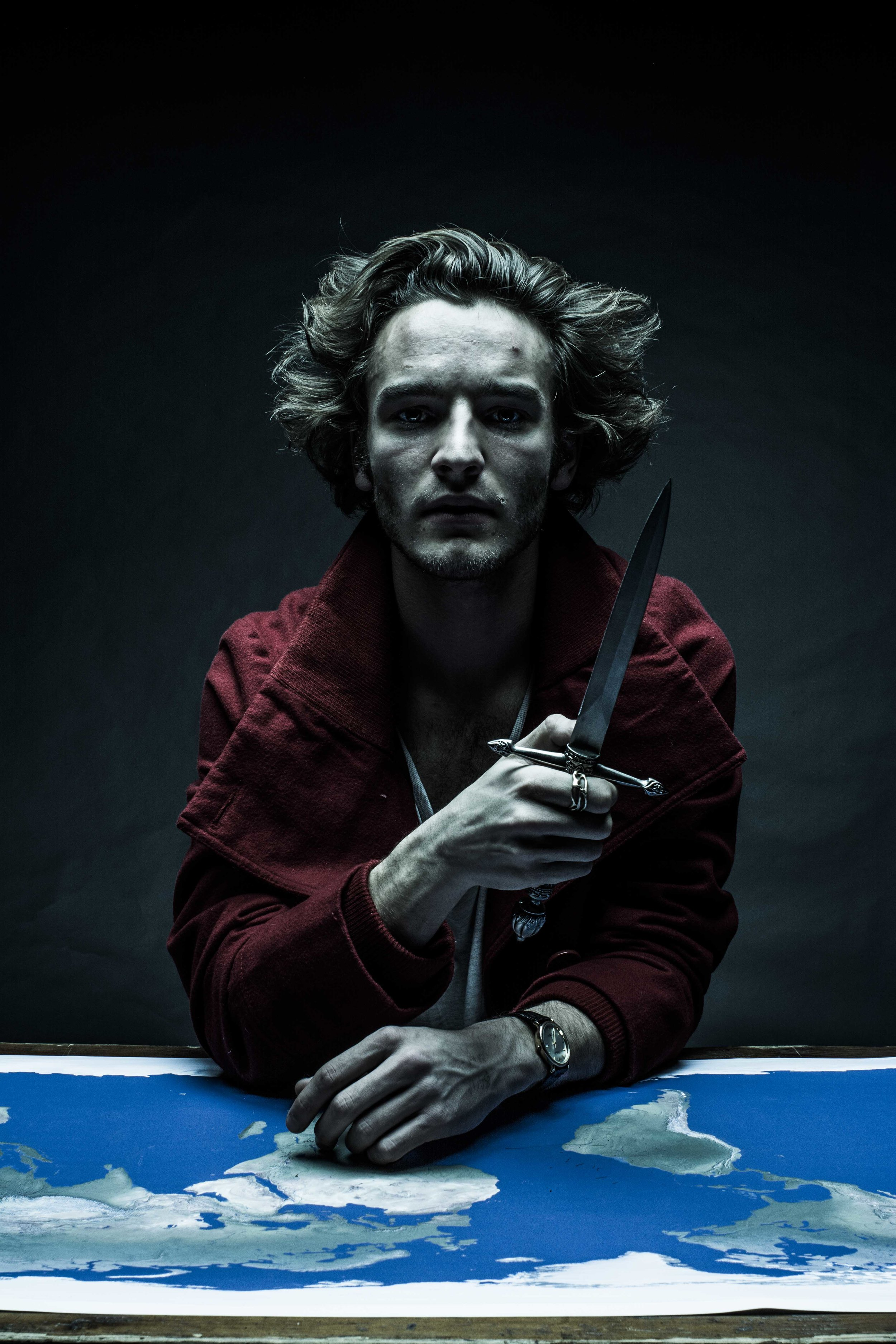 """Yet Shall I Try The Last"" Fergus Riordan, Self Portrait"