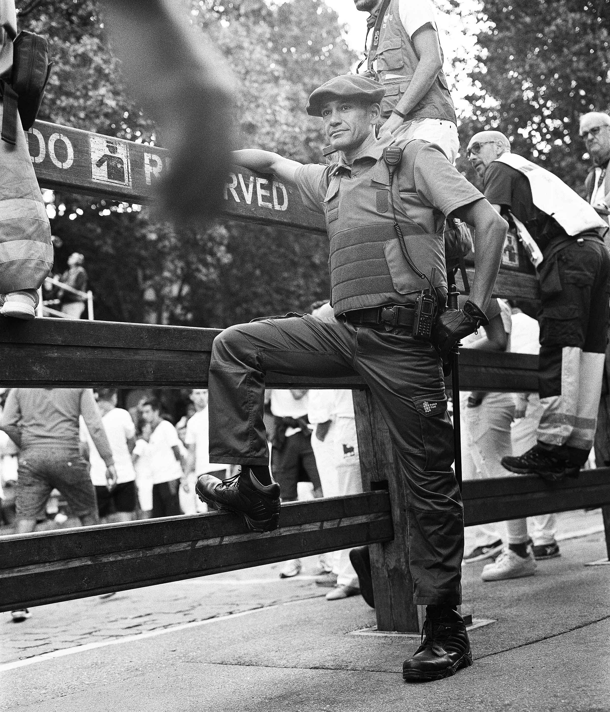 Policía en San Fermín, Pamplona