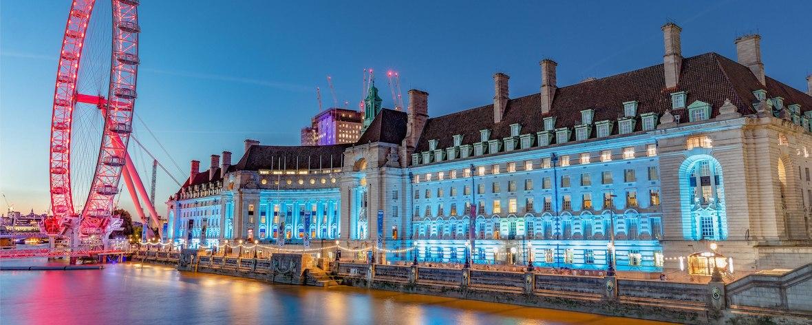 The London Marriott Hotel, County Hall.
