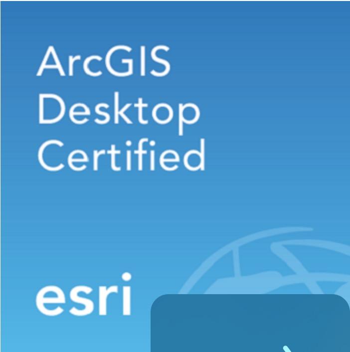 ArcGIS Desktop Certified SOPORTA